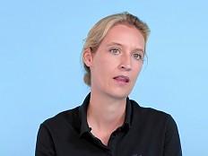 AfD - Alice Weidel: Eltern fanden Coming-out 'ganz, ganz lustig'