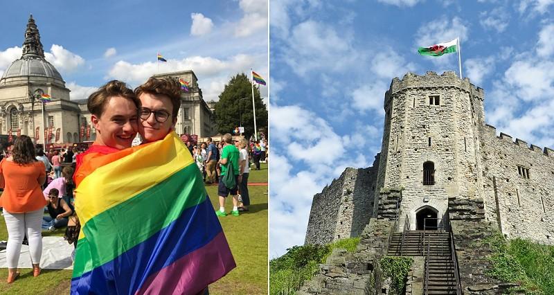 Großbritannien - Ein queeres Wochenende in Cardiff