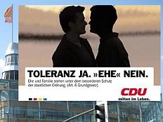 CDU/CSU - So homophob ist das Gewissen der Union noch immer
