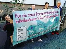 Intersexualität - 'Das Vertrauen in Staat, Politik und Gerichte ist gering'