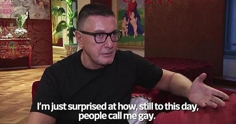 Dolce und Gabbana - Stefano Gabbana will nicht mehr 'schwul' genannt werden