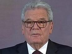 Joachim Gauck - Gauck erwähnt LGBTI-Rechte in Abschiedsrede