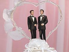 Homo-Ehe in Deutschland - Ehe für alle: Grüne verschenken Hochzeitstorte