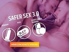 HIV-Prävention - 'Safer Sex 3.0' im neuen Design