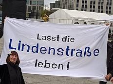 'Lindenstraße'-Fans demonstrieren für Erhalt der Serie