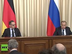 Heiko Maas in Moskau: Kein Wort zu Tschetschenien