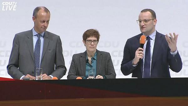 CDU/CSU - Spahn verteidigt Kramp-Karrenbauer