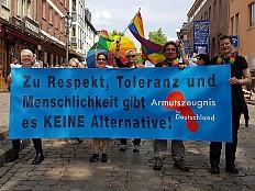 CSD Berlin - AfD beim Berliner CSD unerwünscht