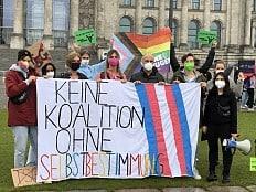 Bundestagswahl 2021 - 'In allen Bereichen entschlossen gegen (...) Queerfeindlichkeit'