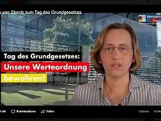 AfD-Storch über das Grundgesetz: Homosexuelle und Ausländer als Feindbilder